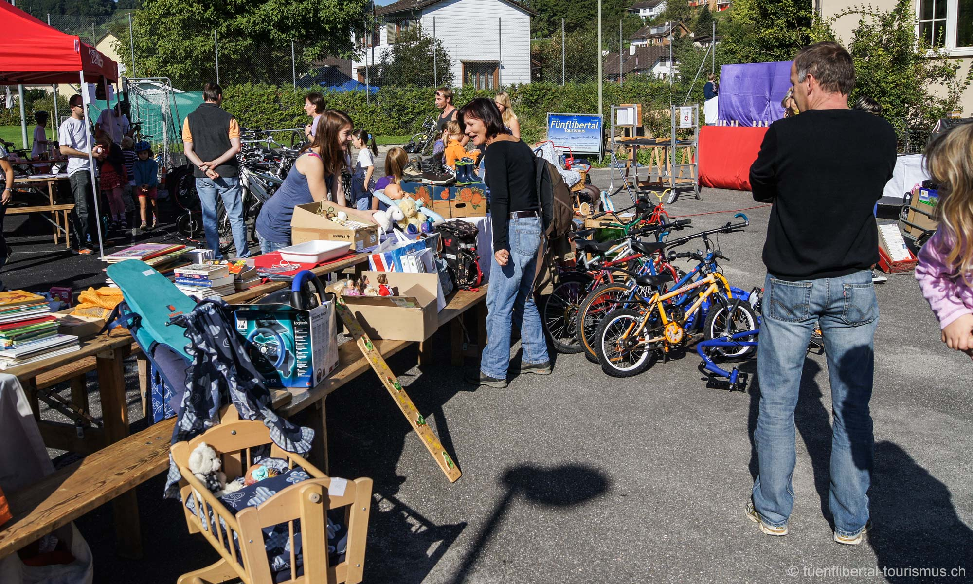 Herbstmarkt in Ziefen 2010
