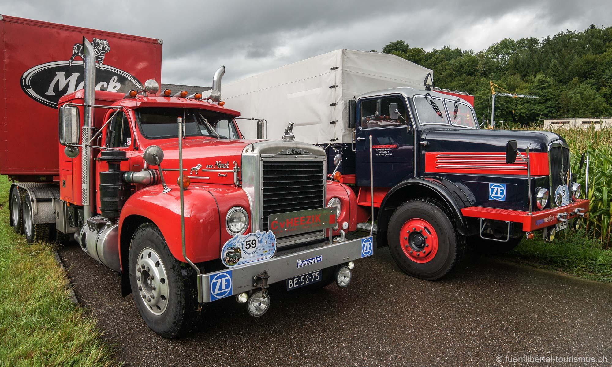 Historische Kraftfahrzeuge, Ziefen 2012