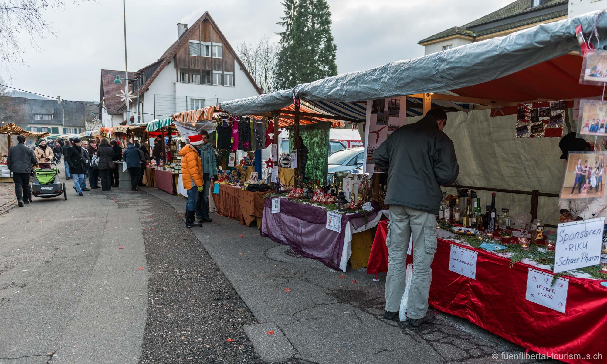 Weihnachtsmarkt Bubendorf 2012
