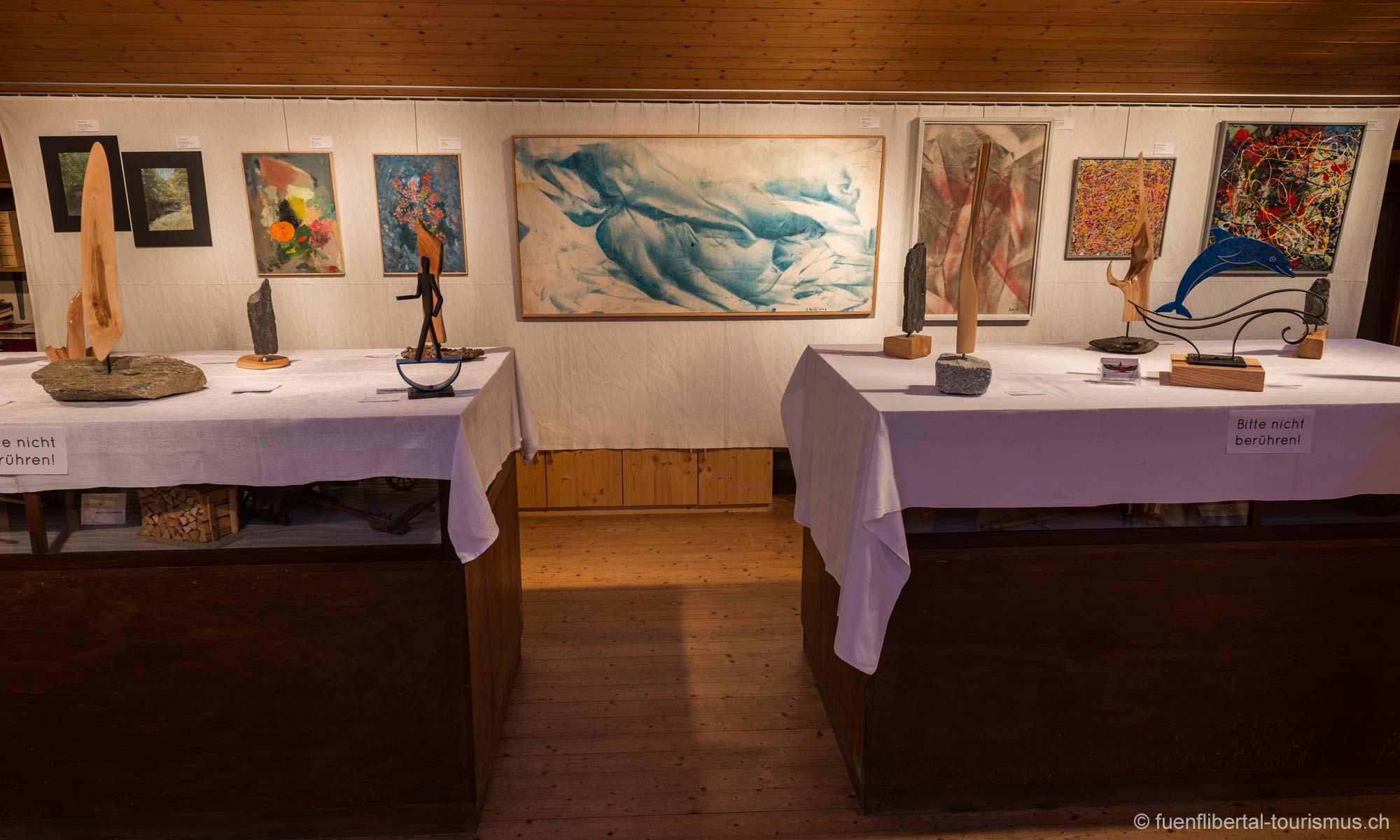 Kunstausstellung im Dorfmuseum Ziefen 2013