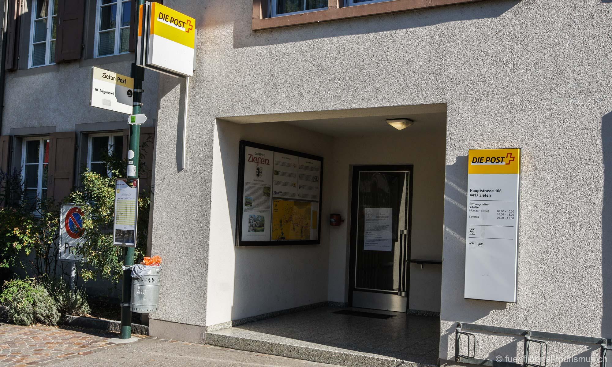 Ziefner Poststelle wird nach 138 Jahren geschlossen