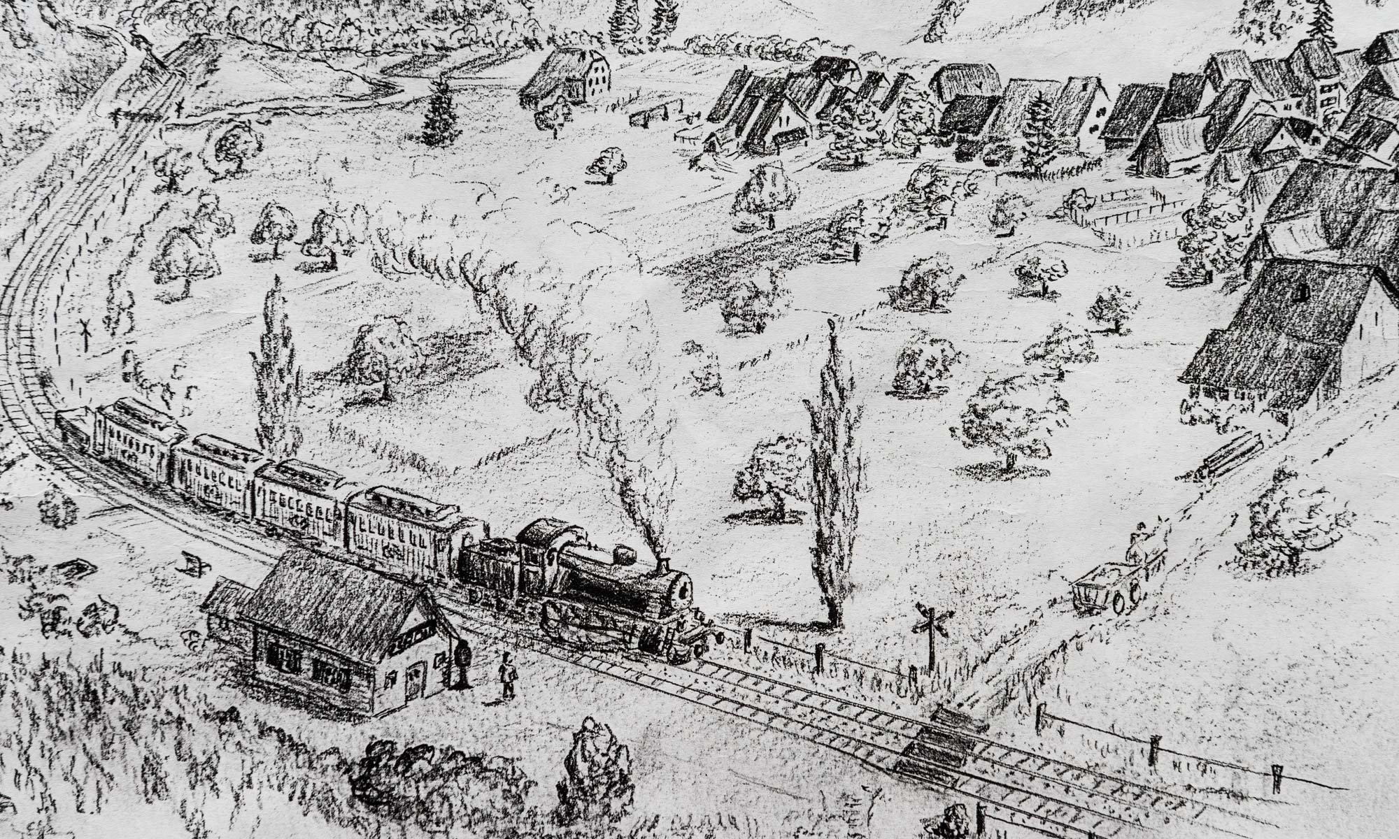 Eisenbahneuphorie im Fünflibertal