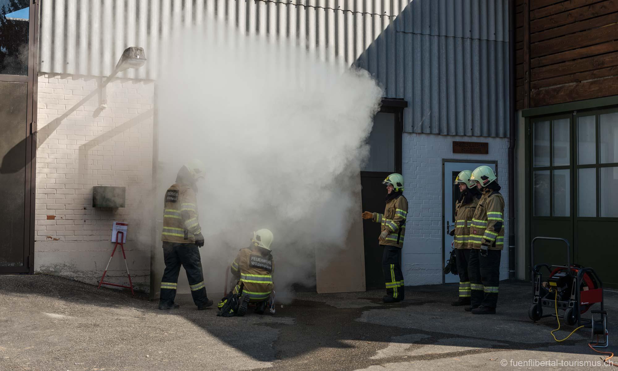 Hauptübung Feuerwehr Wildenstein 2014