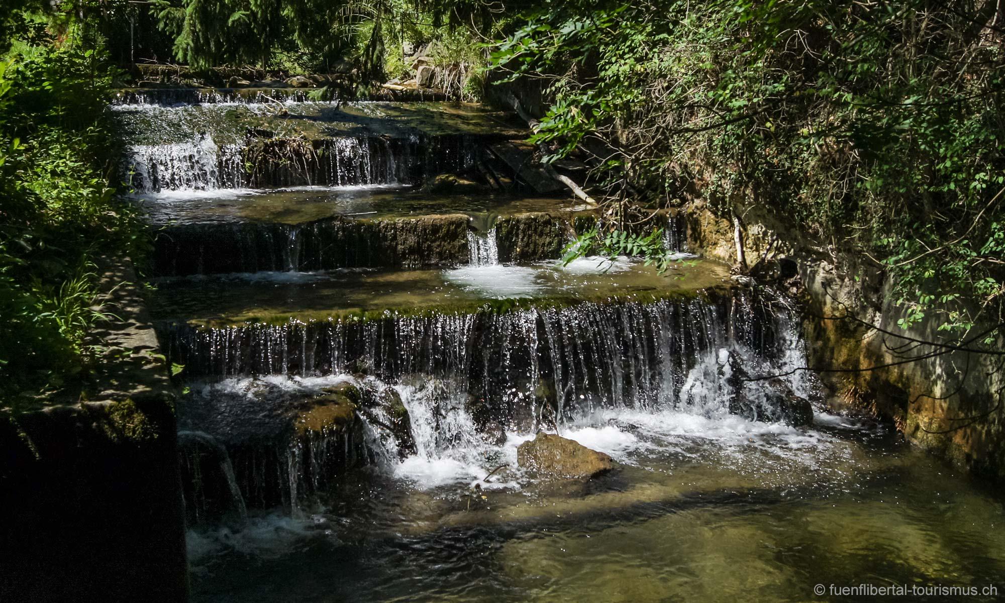 Mühlidyg Wasserfall Ziefen