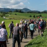 11. Nationaler Wandertag in Arboldswil, Baselland, 8. September 2018